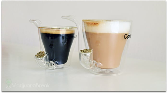 wake and bake espresso and coffee cups