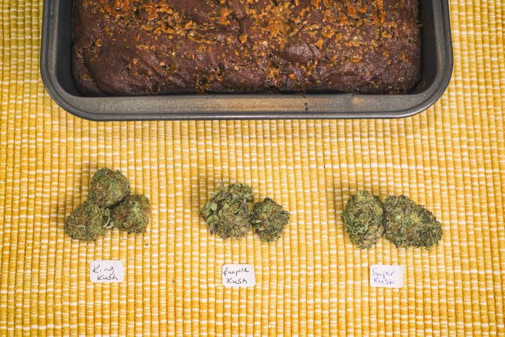 Cannabis Edibles on Tray