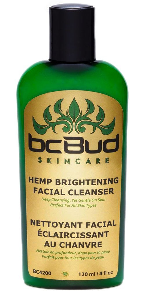 bcBud Skin Care Hemp Brightening Facial Cleanser