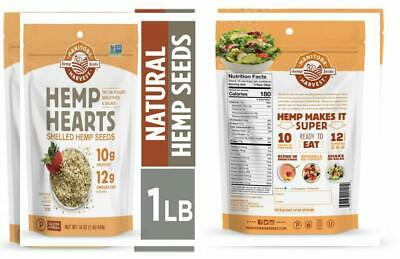 Manitoba Harvest Hemp Hearts Natural Hemp Seeds, 1lb