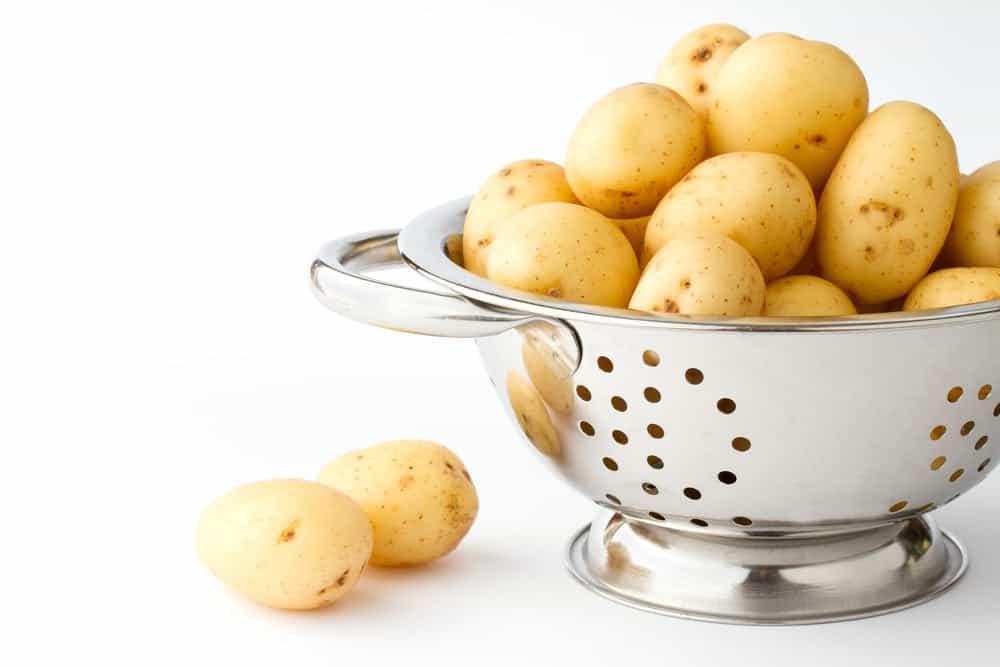 THC potatoes dish