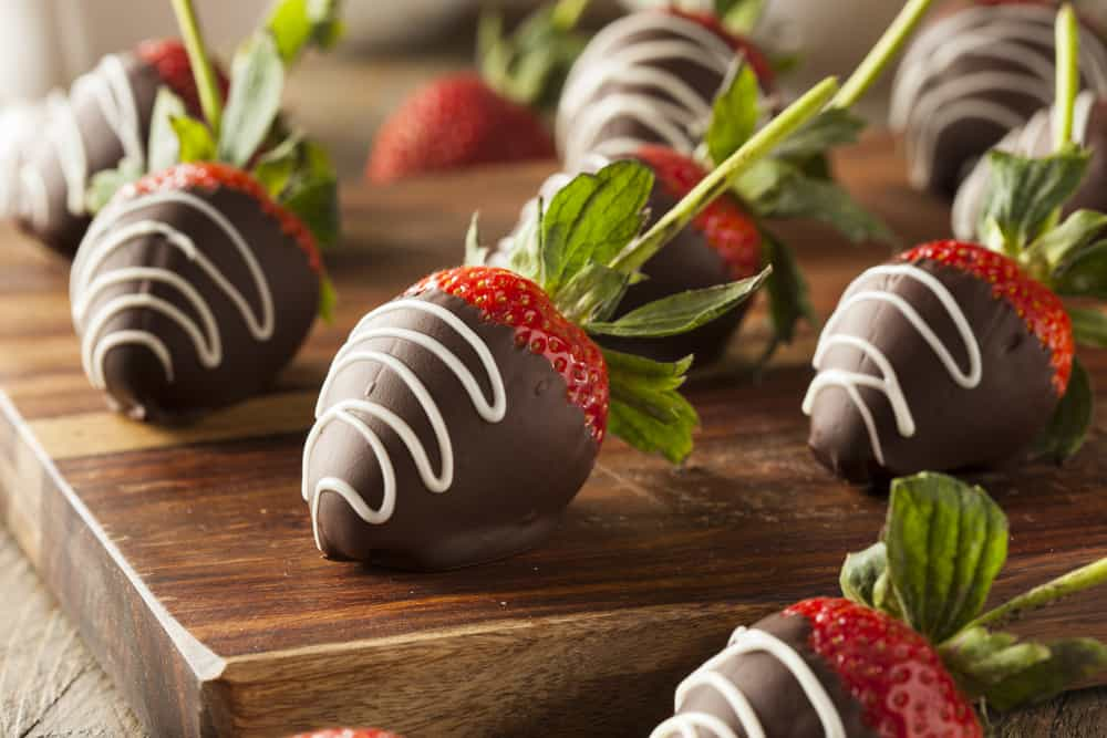 homemade canna strawberries