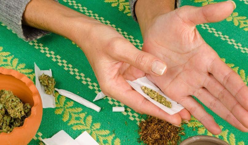 marijuana pinner joint