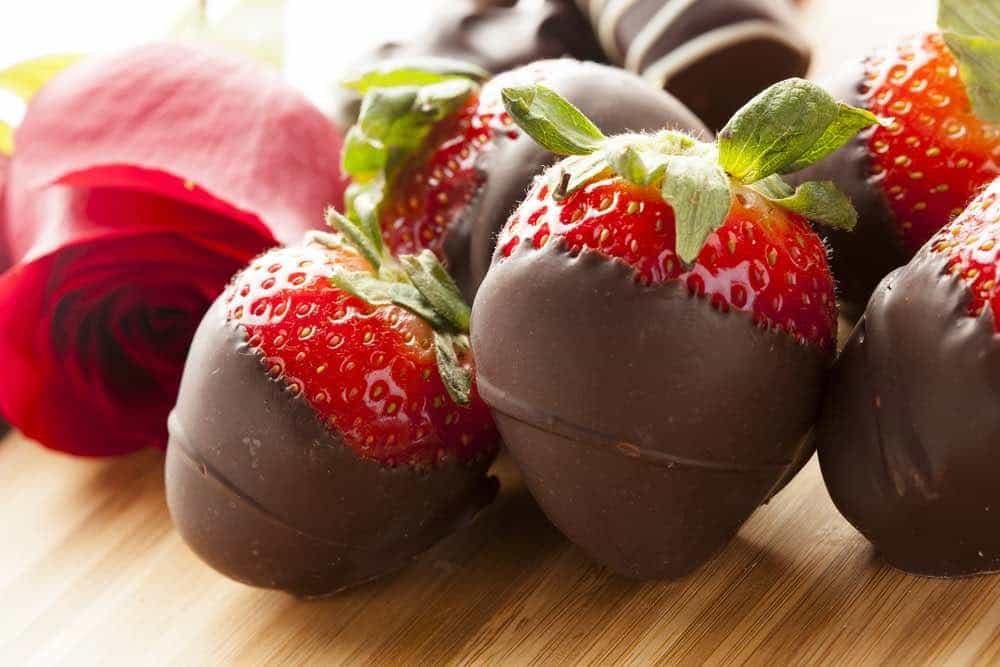 Cannabis Strawberries with Chocolate