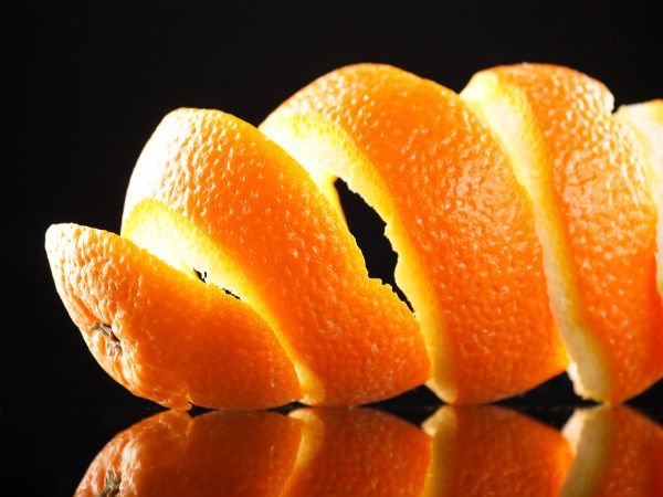 orange peel for marijuana moisture