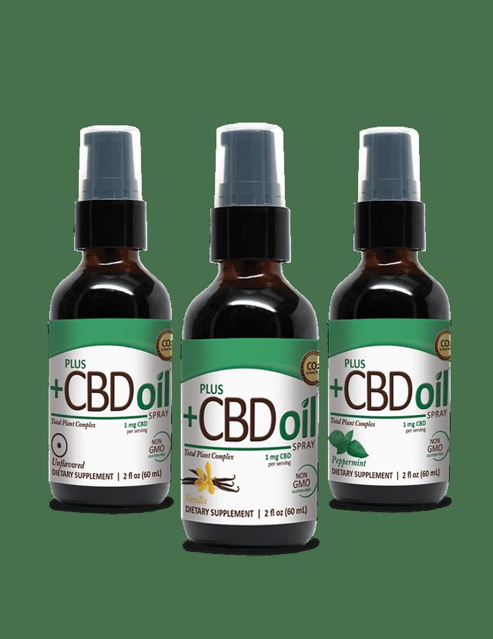 Plus +CBD Oil spray