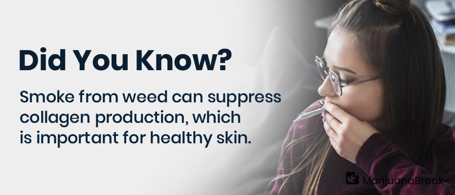does marajuana cause acne