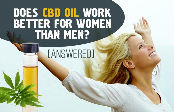 Does CBD Oil Work Better For Women Than Men? [Answered]