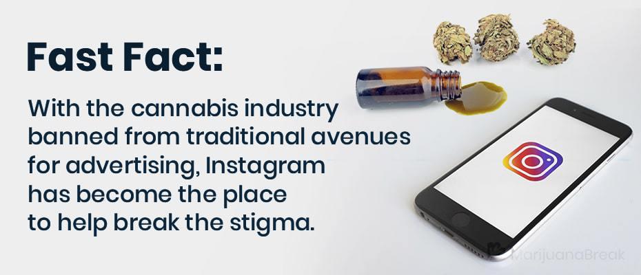 top cannabis instagram accounts