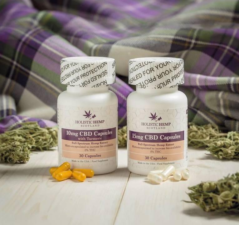 holistic hemp capsules