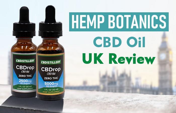 Hemp Botanics CBD Oil UK Review