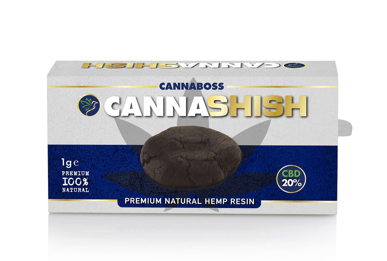 Review of CannaBoss' CannaShish CBD Hash 20%