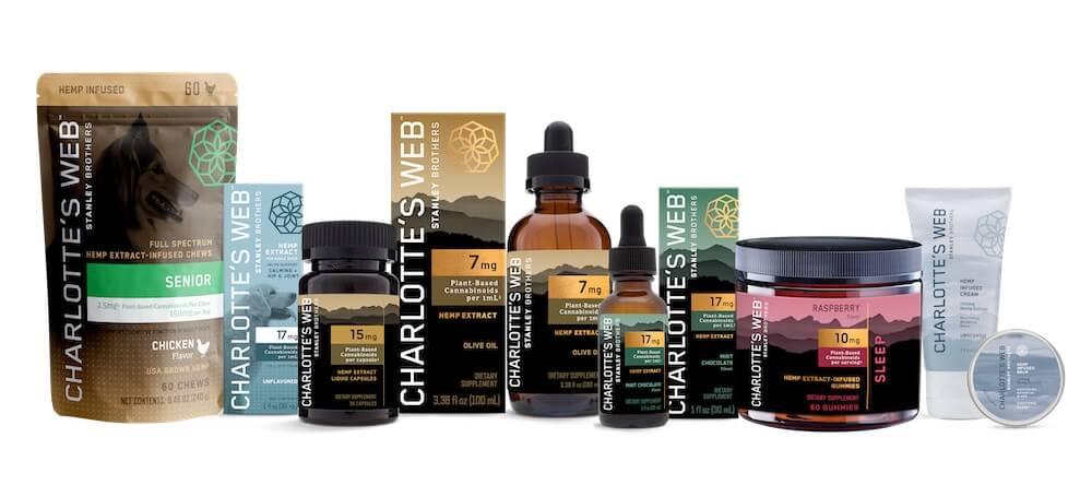 charlottes web cbd products