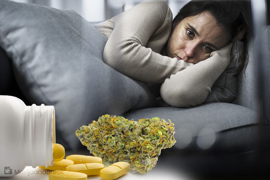 cannabis and antidepressants