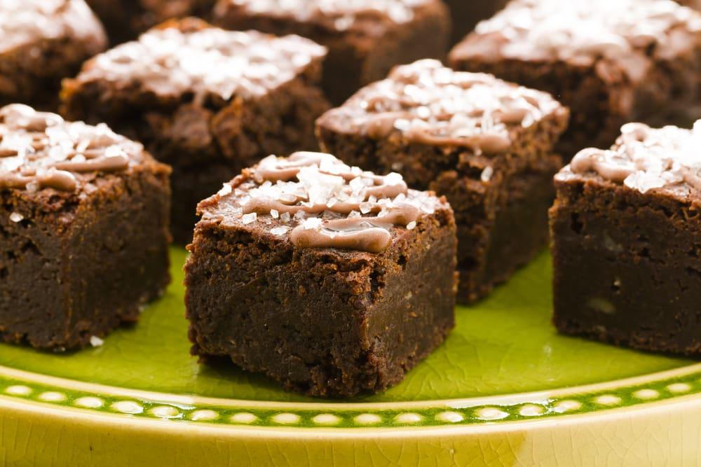 pot brownies recipe 5: gluten-free, celiac suitable ganja brownie bites