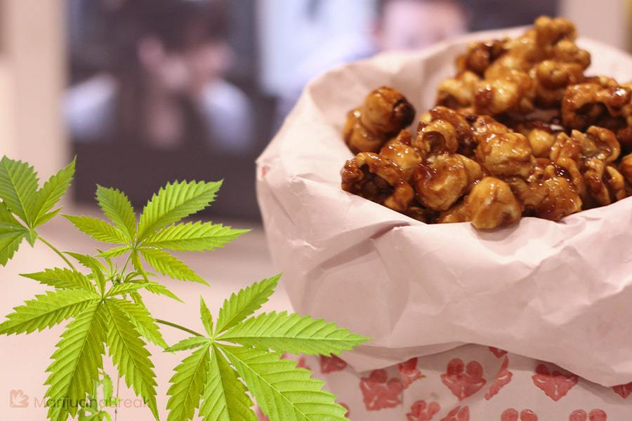 how to make weed popcorn