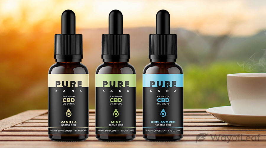 purekana cbd oil review: available products