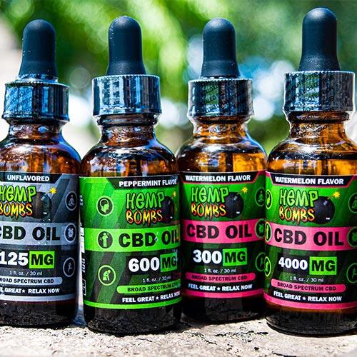hemp bombs cbd oil products
