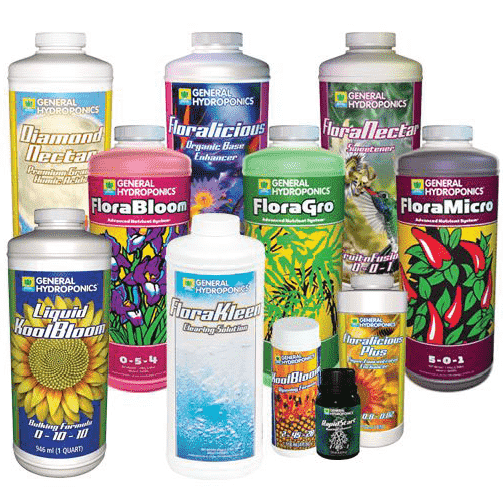 use specialized nutrients & supplements