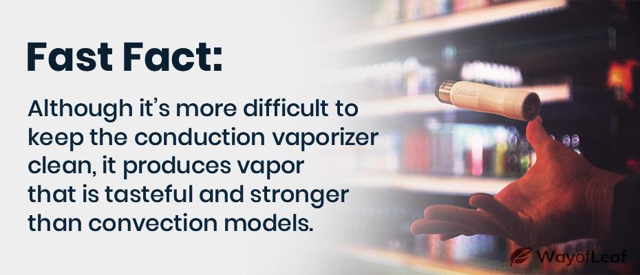 conduction vs convection vape