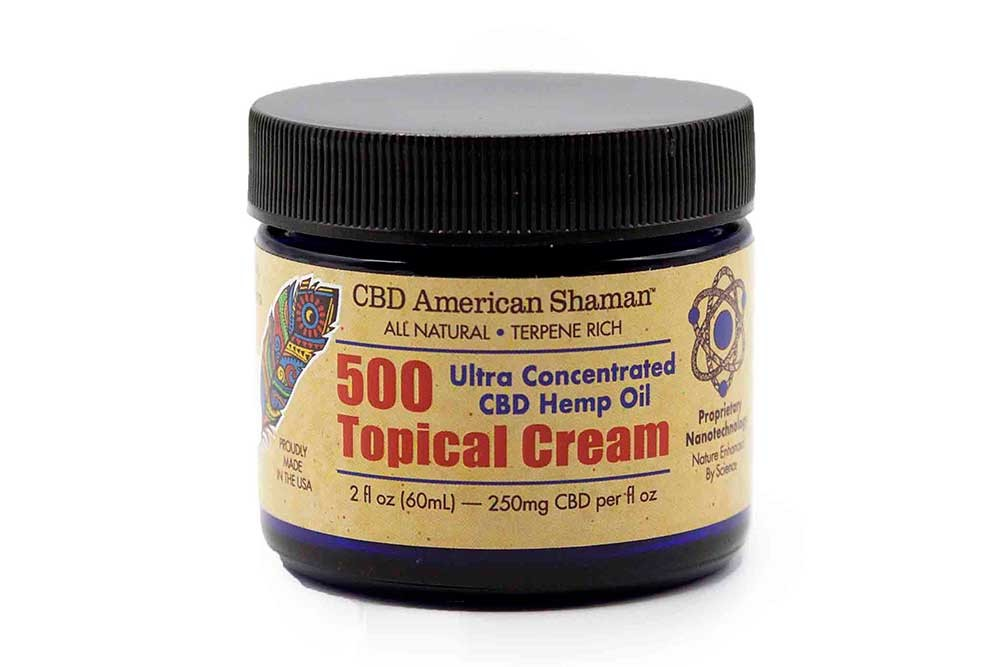 american shaman 500 topical cream