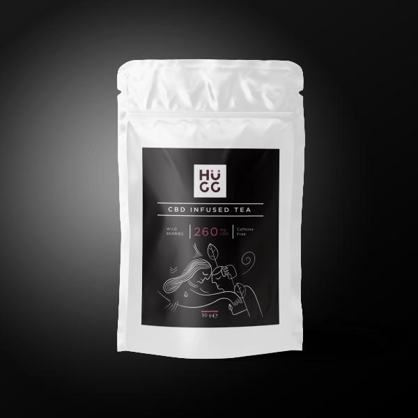 hugg cbd-infused tea