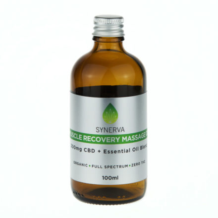 synerva cbd oils massage oils & balms