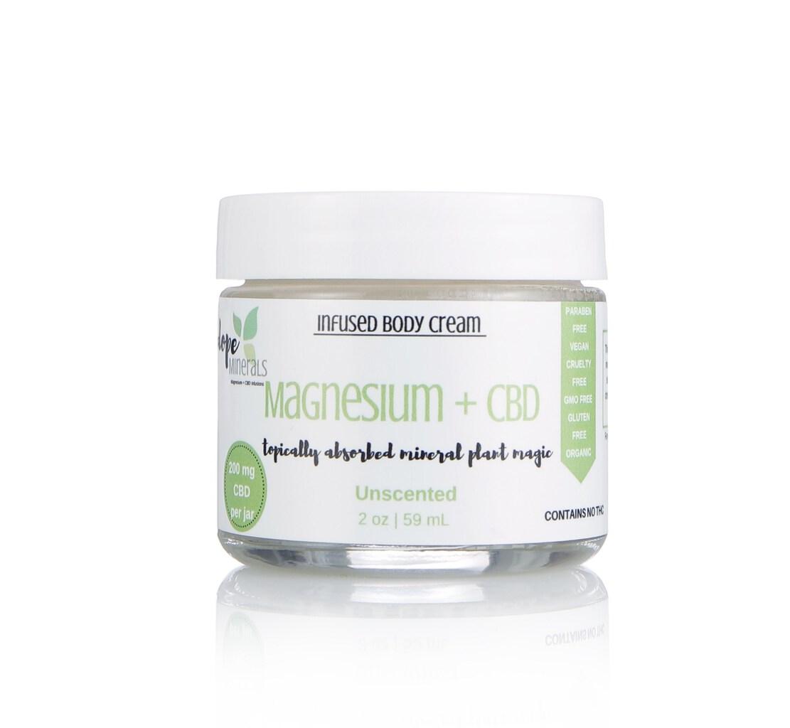 dope minerals hemp cream