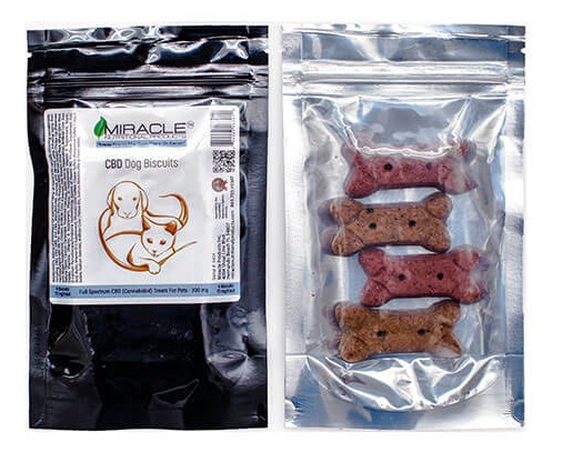 "LeafSimply ""CBDoggy"" Dog Biscuits"