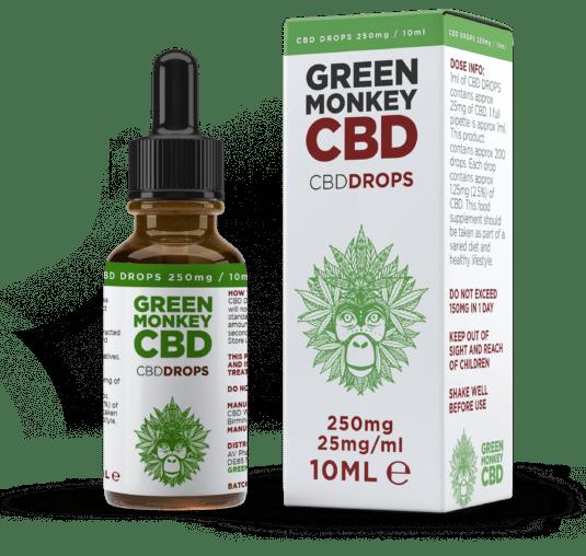 Review of Green Monkey CBD Oil Drops