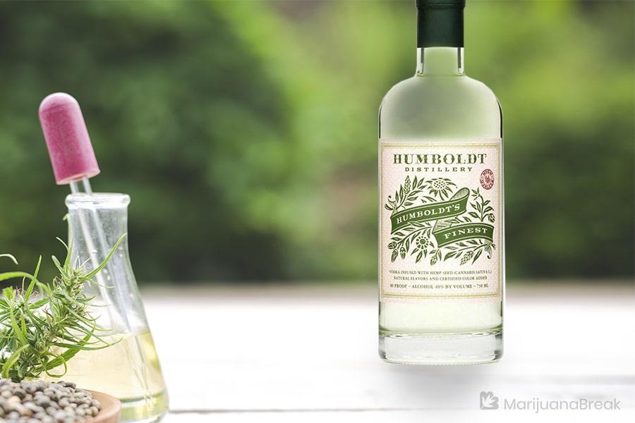 humboldt's finest cannabis infused vodka