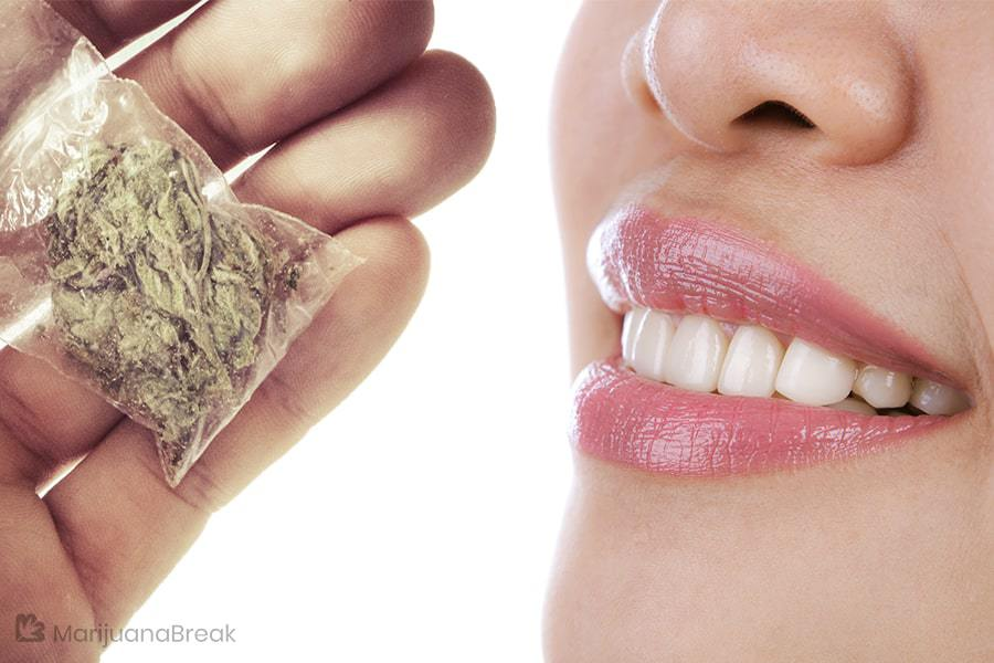 does smoking weed affect your teeth