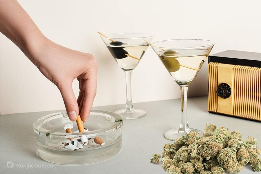 marijuana vs alcohol and tobacco