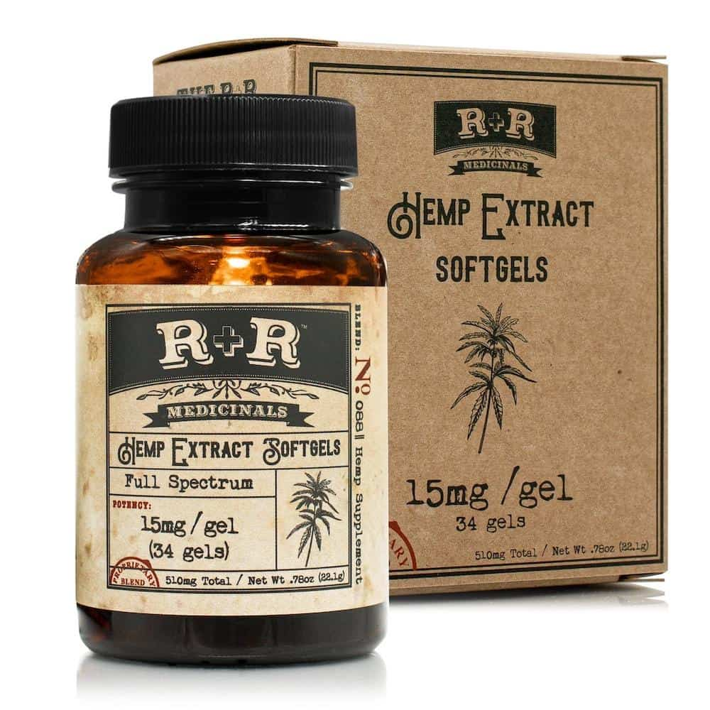 r + r medicinals softgels