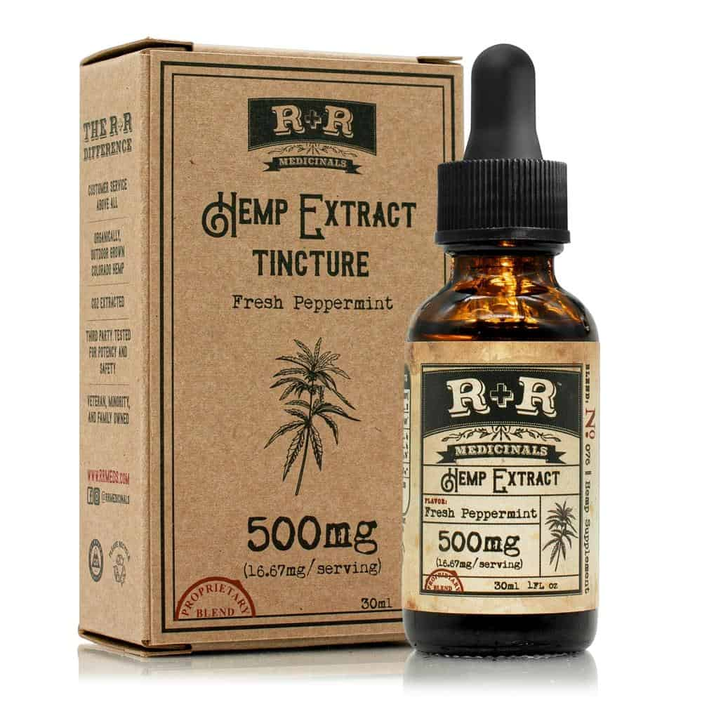 R + R Medicinals Tinctures