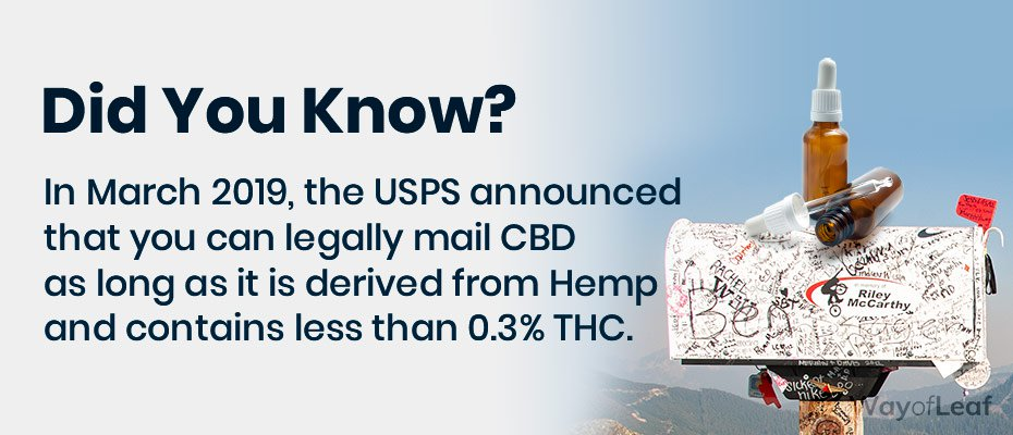can you mail cbd oil