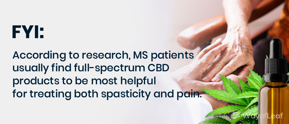 cbd oil for ms