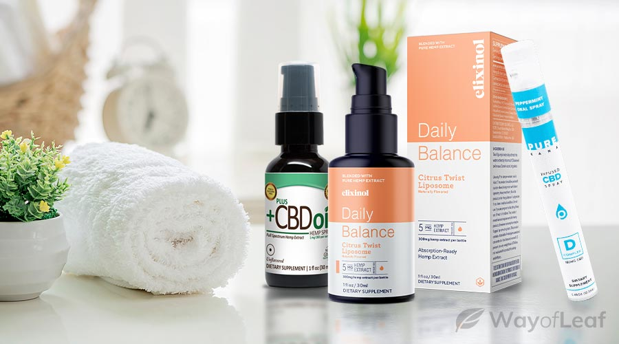 which brand offers the best cbd spray?