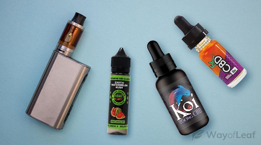 Which Brand Offers the Best CBD Vape Juice?