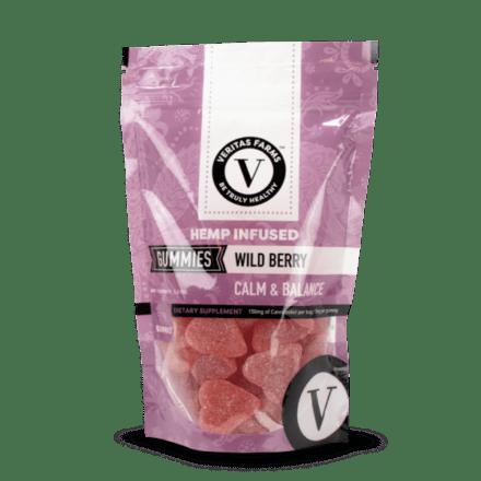 Veritas Farms CBD Gummies: Wild Berry Calm and Balance
