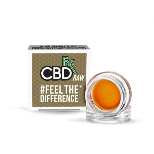 CBDfx CBD Wax Concentrated Dab