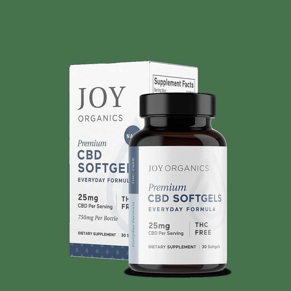 Joy Organics – CBD Softgels