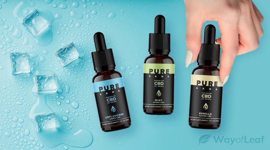 PureKana – CBD Hemp Oil, 300mg – 5000mg ($54 - $390)