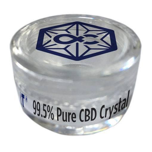 pure cbd crystals